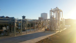 Sierra Energy's FastOx gasifier is under construction at Fort Hunter Liggett, where a trial run of its garbage-to-renewable energy system is expected to begin this spring. Courtesy photo
